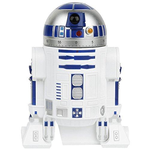 Funko UGTSW35736 Star Wars R2-D2 Kitchen Timer, White, 8' x 4.5' x 3.5