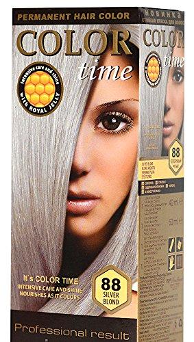 Color time, tinte permanente para el cabello de color rubio