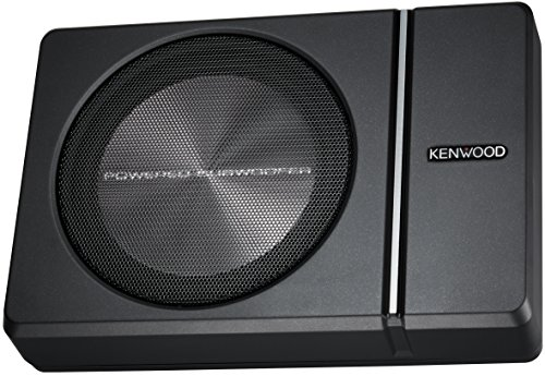 Kenwood KSC-PSW8 250W Max (150W RMS) Single 8' Under Seat Powered Subwoofer Enclosure W/Remote Control
