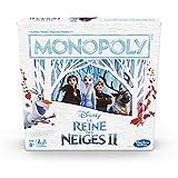 Monopoly La Reine des Neiges - Jeu de societe - Jeu de plateau - Version...