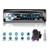 Lifelf Autoradios Bluetooth Radio Voiture Récepteur avec Lecteur MP3 WMA...