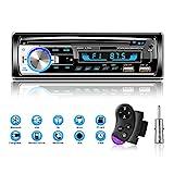 Lifelf Autoradios Bluetooth Radio Voiture Récepteur avec Lecteur MP3 WMA FM...