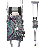 Crutch Bag Universal Crutches Accessory Crutch Carryon Pouch (Colorful, Polyester)