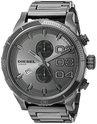 Diesel Herren Chronograph Quarz Uhr mit Edelstahl Armband DZ4314