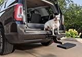PetSafe Happy Ride Dog Hitch Step - Easy to Install on Any 2 Inch Vehicle Hitch - High-Traction Steps - Folds Down for Travel - Supports Pets up to 200 lb - Great for SUVs and Trucks
