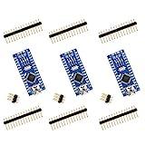 ELEGOO 3 Pièces Carte Nano V3.0 CH340 ATmega328P Micro Contrôleur Module Board...