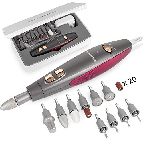 BEAUTURAL Professional Manicure and Pedicure Kit,...