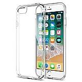 iPhone 8 Plus 7 Plus Case, Trianium [Clarium Series] Protective Cover for Apple iPhone 7Plus / iPhone 8 Plus Case [Shock Absorption] TPU Bumper Cushion+Scratch Resistant Hybrid Rigid Clear Back-Clear