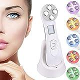 Dispositif de beauté ultrasonique, 5in1 dispositif multifonctionnel de...