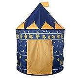 Tente de Jeu Cabane Pop-up Château de Princesse Pour Enfant à...
