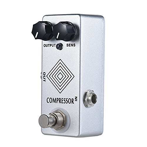 Alician MOSKY Guitar Pedal Dynamic Compressor Guitar Effect Pedal Guitarra Full Metal Shell True Bypass