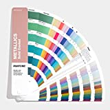 Pantone GG1507A Metallics Guide - Nuancier avec couleurs métalliques,...