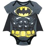 Warner Bros. Body Naissance Bébé Garçon Batman avec Manteau Gris