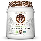 Evolve Protein Powder, Classic Chocolate, 20g Protein, 2 Pound