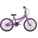 20' Kent Features A Durable Steel Frame 2 Cool Girls' BMX Bike, Satin Purple