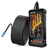 50FT Industrial Endoscope, Oiiwak Borescope Camera for Pipe Sewer Drain Plumbing Inspection 1080P HD...