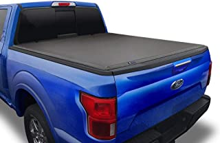 Tyger Auto Black (Soft Top) T3 Tri-Fold Truck Tonneau Cover TG-BC3F1019 works with..