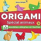 Origami spécial animaux : +40 modèles simples et faciles | Vol. 1: Projets de pliages...