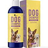 Dog Oatmeal Shampoo - Try one of the best dog shampoo formulas handcrafted to cleanse and moisturize dry skin and fur for a pet shampoo for dogs that's a dog grooming supplies and pet bath staple Deodorizing Dog Shampoo - You can trust our dog body w...