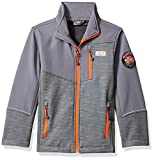 32 DEGREES Weatherproof Boys' Big Outerwear Jacket (More Styles Available), Zip Pockets Heather Grey, 14/16