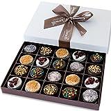 Barnett's Holiday Gift Basket - Elegant Chocolate Covered Sandwich...