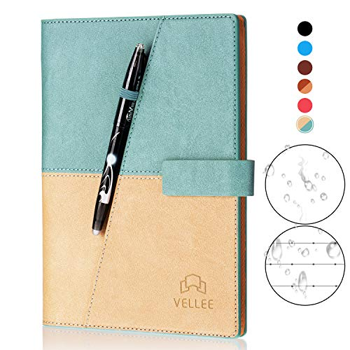 KYSTORE A5 Reusable Smart Erasable Leather Notebook,...