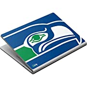 Ultra-Thin, Lightweight Surface Book Vinyl Decal Protection Officially Licensed NFL Design Industry Leading Vivid Color Vinyl Print Technology on your Seattle Seahawks Retro Logo skin Scratch - Resistant. Built To Last Everday Surface Book Use 3M Adh...