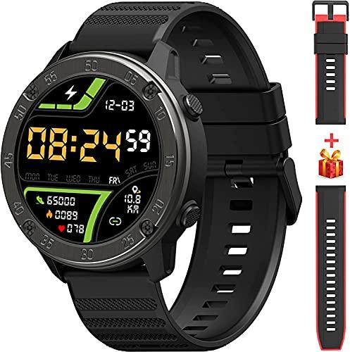 Smartwatch, Fitness Tracker 1,3 Zoll TFT-Display Fitness Armbanduhr mit Pulsuhr Schlafmonitor, Sportuhr Schrittzähler Uhr, Stoppuhr IP68 Wasserdicht für Herren Damen Smart Watch für iOS und Android
