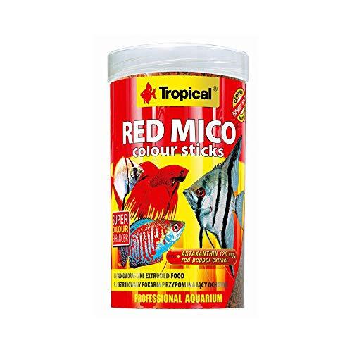 Tropical Red Mico Colour Sticks - Gusanos liofilizados (250 ml)