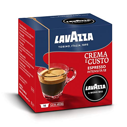 Lavazza A Modo Mio Capsule Caffè Crema e Gusto - Confezione da 256 Capsule