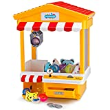 Claw Toy Grabber, Home Arcade Electronic Machine with LED Lights & Sounds, Automatic Retrieval Button by Toydaloo