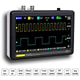 beiyoule 100 mhz Digital Oscilloscope 2 Channels - Portable Handheld Digital Storage Oscilloscope - 184mm x 124mm x 50mm