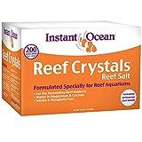Instant Ocean Reef Crystals Reef Salt For 200 Gallons, Enriched Formulation For Aquariums, 25600 Fl Oz (Pack of 1)