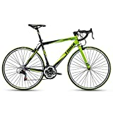 Trinx TEMPO1.0 700C Road Bike 21 Speed Racing Bicycle (Black Green)
