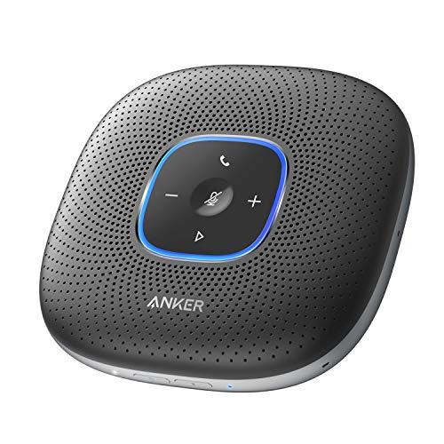 Anker PowerConf, スピーカーフォン 会議用 マイク Skype Zoom など対応 24時間連続使用 USB-C接続 オンラ...