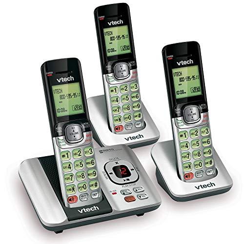 VTech CS6529-3 3-Handset Expandable Cordless Phone...