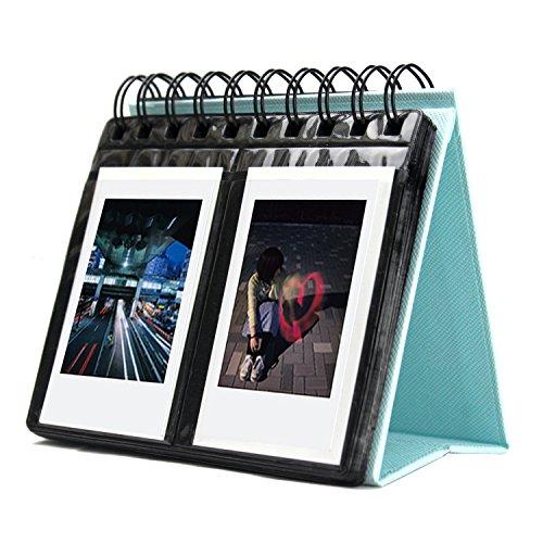 Amazing Works [Fujifilm Instax Mini Photo Album] 68 Pockets Desk...