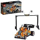 LEGO 42104 Technic Le camion de course vers voiture de course Modèle 2in1, Moteur à rétrofriction, Collection de véhicules de course
