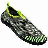 Rockin Footwear Men's Rockin Aqua Power Water Shoe, Green, US Size: 12 Regular US