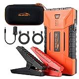 mfavour Booster Batterie Démarreur de Voiture 1200A 16000mAh Portable Jump...