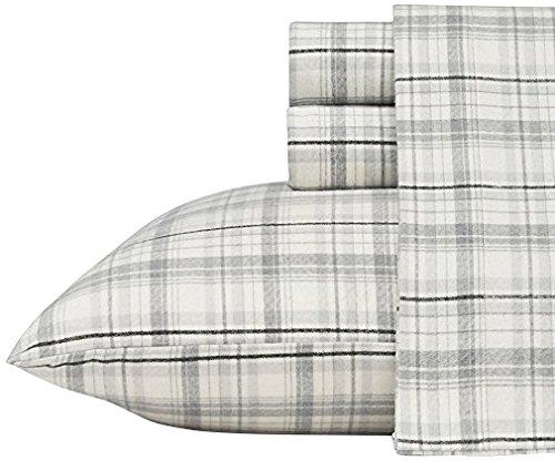 Bare Home Flannel Sheet Set 100% Cotton