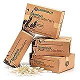 Chinchilla Lot de 4 paquets de cotons-tiges en bambou (800...