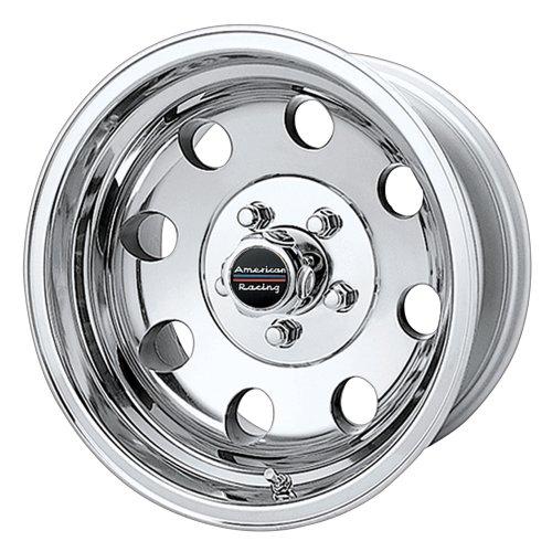 American Racing Custom Wheels AR172 Baja Polished Wheel (15x7'/5x127mm, -6mm offset)
