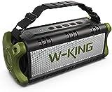 50W(70W Peak) Bluetooth Speakers Built-in 8000mAh Battery Power Bank, W-KING Wireless Outdoor...