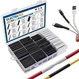 electrapick 300pcs Gaines Thermorétractables Protection Câbles avec Colle...