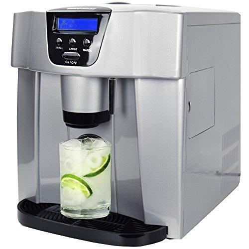 Gino Gelati GG 400Water digitale per cubetti di ghiaccio con acqua funzione macchina per cubetti di...