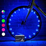Activ Life Bike Wheel Lights (2 Tires, Blue) Best Gifts for Men for Christmas Stocking Stuffers & Birthday Gifts, Teens & Boys. Top Unique Presents for Kids 2020 Ideas for Him, Dad, Brother, Uncle