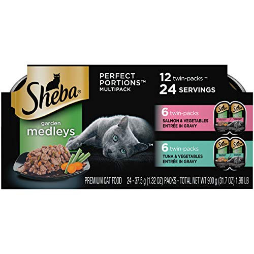Sheba-Perfect-Portions-Garden-Medleys-Cat-Food-Tuna-Vegetables-and-Salmon-Vegetables-Entree-in-Gravy-Multipack-24-26-Ounce-Twin-Pack-Trays-397-lb-10168365