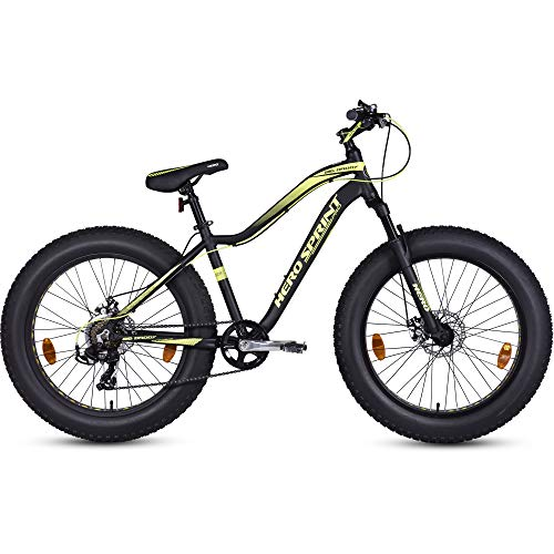 Hero Sprint Pro Big Daddy 26T 7-Speed Bicycle (Black/Yellow)
