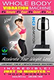 NCI Whole Body Vibration Machine - 3D-Motion Commercial (2HP, 440 lbs), Dual Motor, Large Vibrating Platform,...